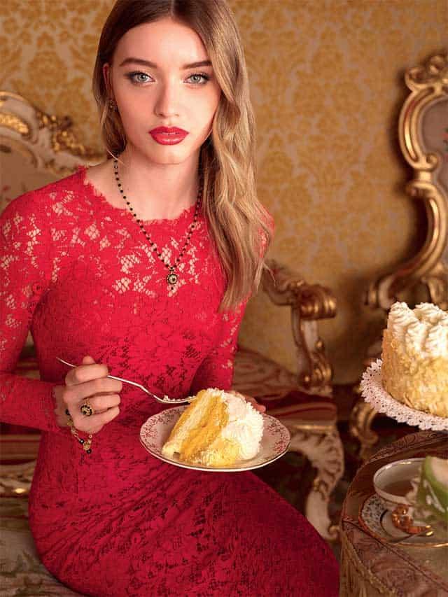 Giulia Maenza per Dolce & Gabbana