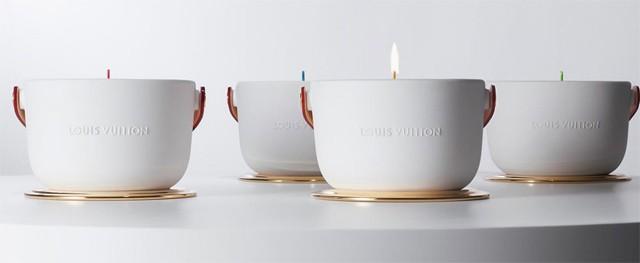 Le candele profumate di Louis Vuitton