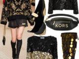 Trend Moda: non è party se non indossi un look nero e oro