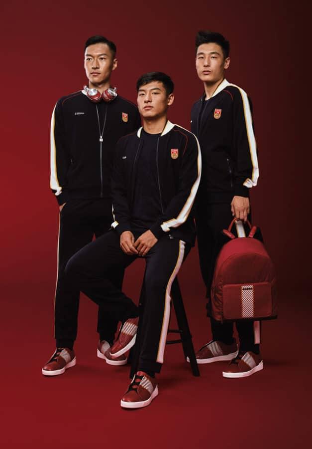 Ermenegildo Zegna e CFA Team China