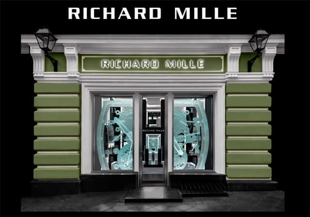 Richard Mille apre in Russia