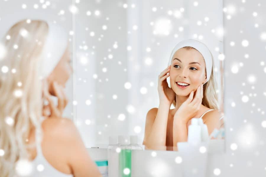 cura della pelle beauty routine