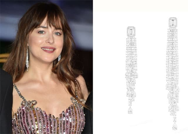 Dakota Johnson con gioielli Messika