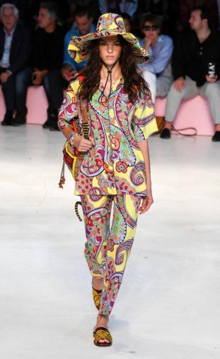 ETRO: camicia,pantaloni e cappelli in stampa foulard cachemire