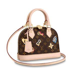 Louis Vuitton Love Lock Alma BB 2