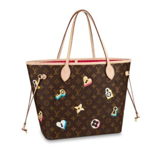 Louis Vuitton Love Lock Neverfull MM