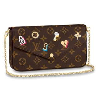 Louis Vuitton Love Lock Pochette Felicie