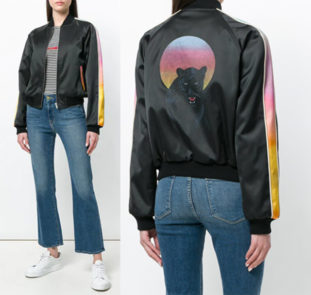 SAINT LAURENT - Bomber Panther
