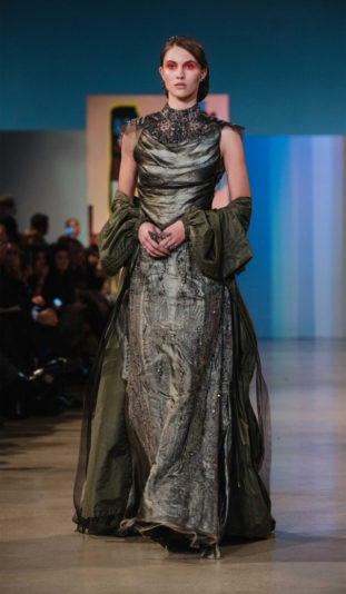 Gattinoni - Presentazione collezione couture -Roma - Pe 2019