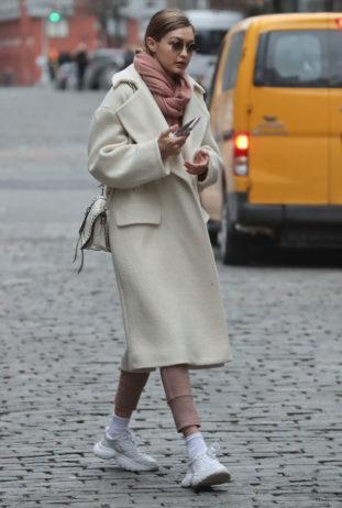 Gigi Hadid a New York