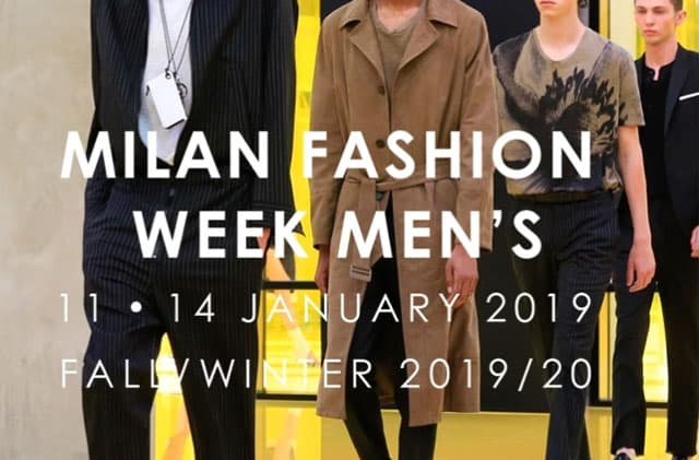 1f8a1cad7f Milano Moda Uomo: una fashion week al maschile ricca di appuntamenti ...