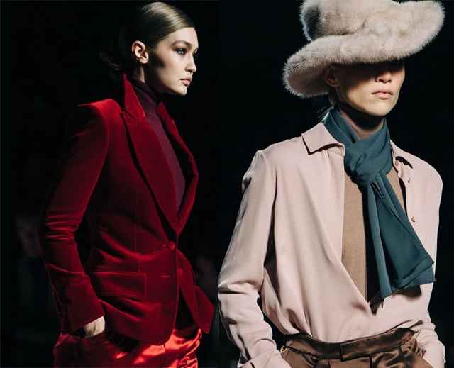 NYFW 2019/20 - la sfilata di Tom Ford