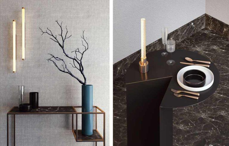 """La lampada """"Candle"""" di Attilio Ladina"""