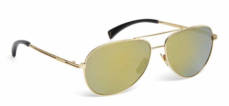 gli occhiali in oro 24kt di Billionaire