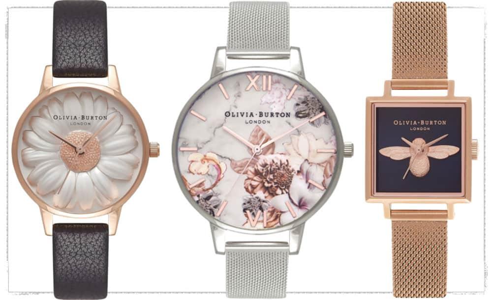 gli orologi di Olivia Burton