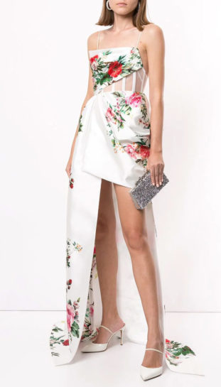 ALEX PERRY Reid floral dress - 6500 euro thumb