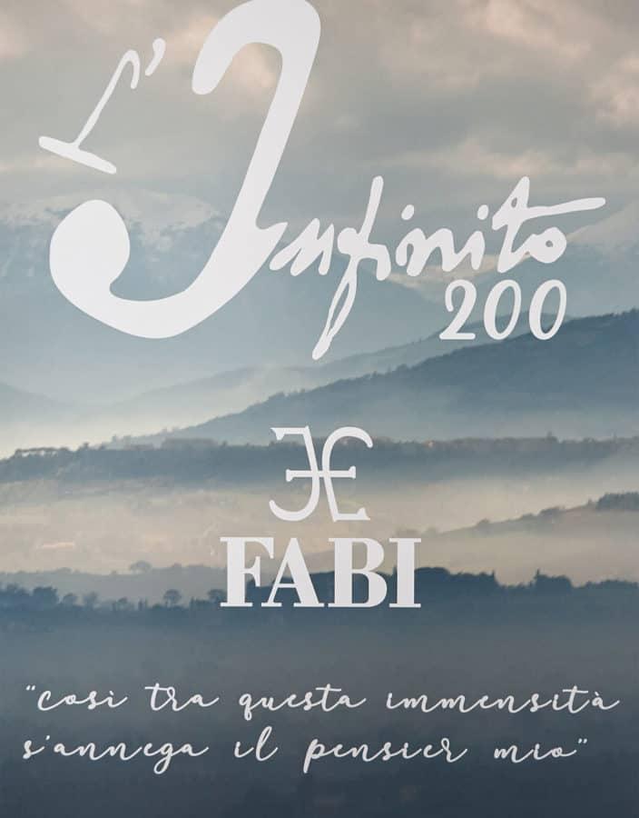 """FABI capsule collection """"L'Infinito200"""": il passato, il presente, il futuro"""