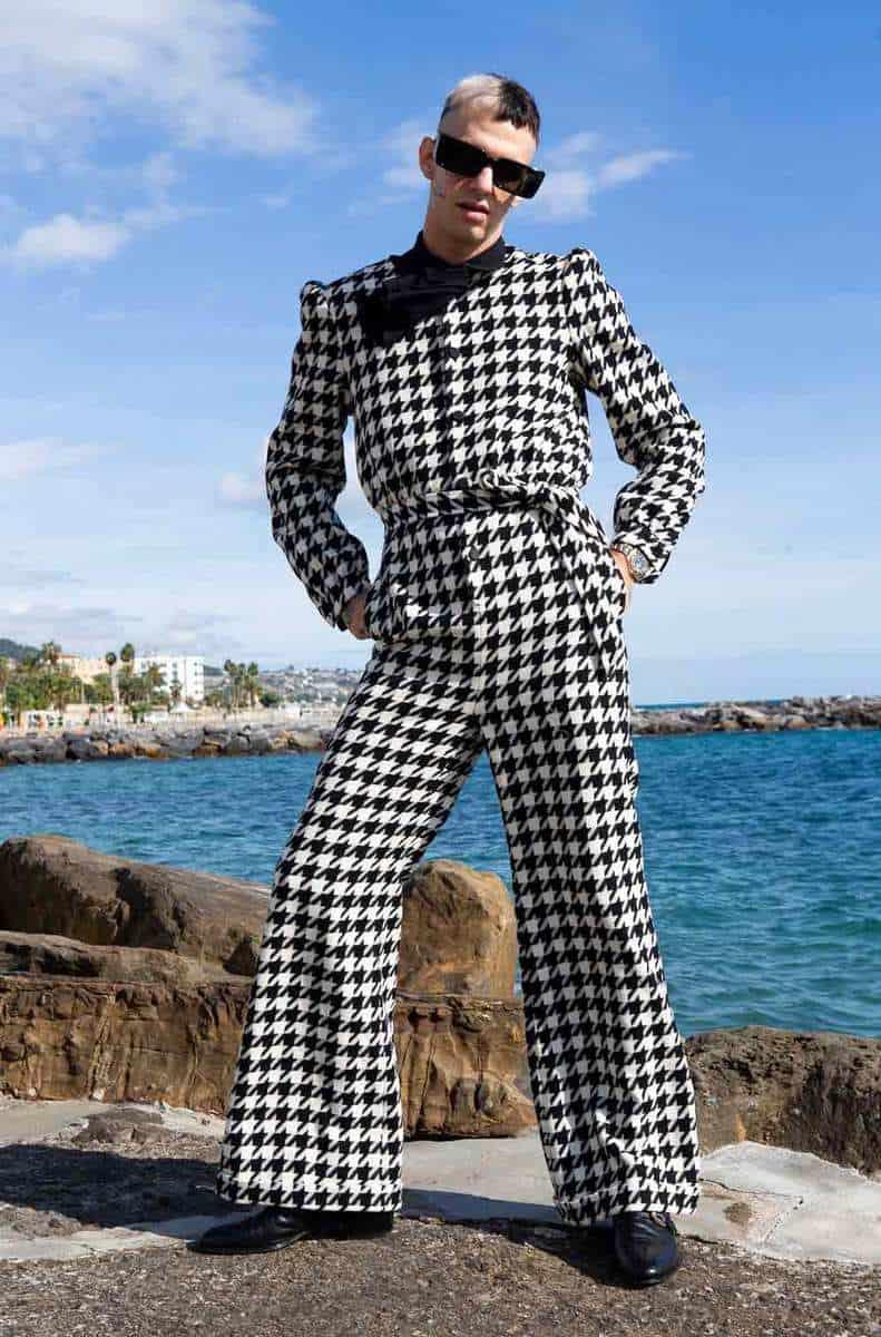 Achille Lauro veste Gucci