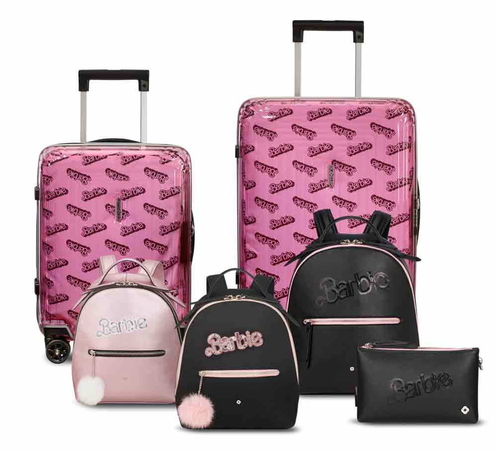 Samsonite e Barbie