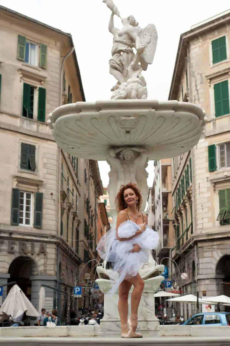 Deborah Gismondi negli scatti artistici del genovese Marcello Rapallino
