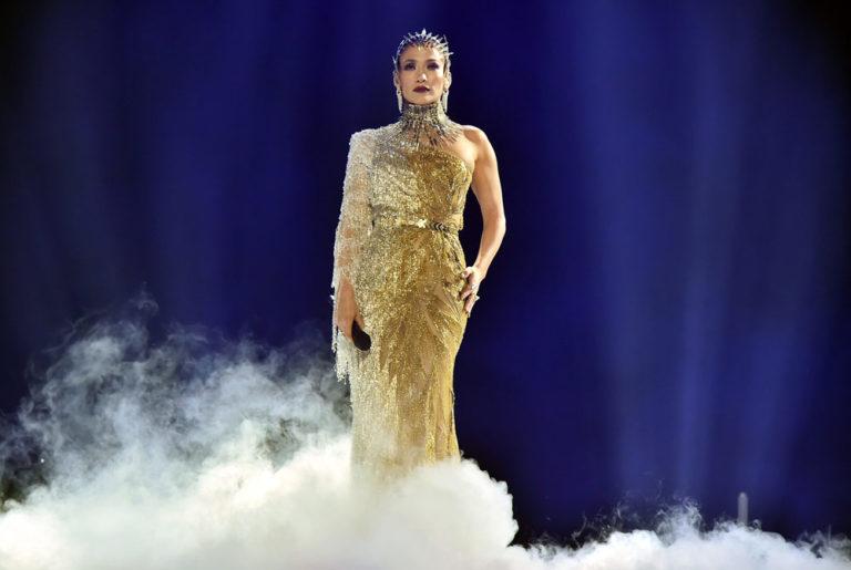 J Lo al Madison Square Garden