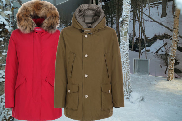 l'iconica Snow Room di Woolrich