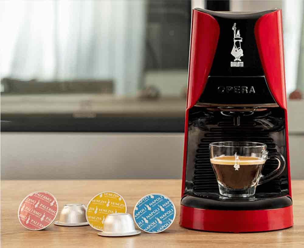 La nuova macchina espresso Bialetti Opera