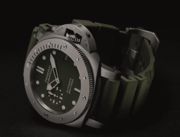 Il nuovo Submersible Verde Militare di Panerai