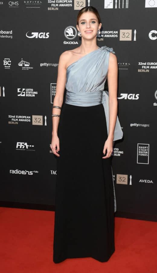 Benedetta Porcaroli, in occasione degli EFA Awards
