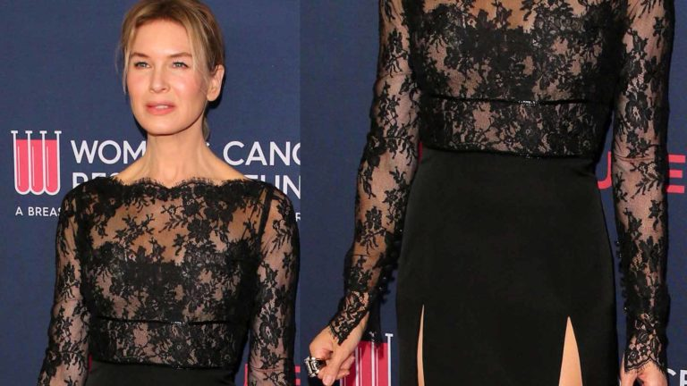 Renèe Zellweger in Gucci a Beverly Hills - foto GettyImages
