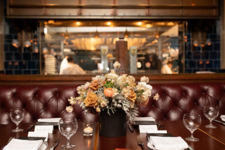 La festa al The Standard Grill di New York City