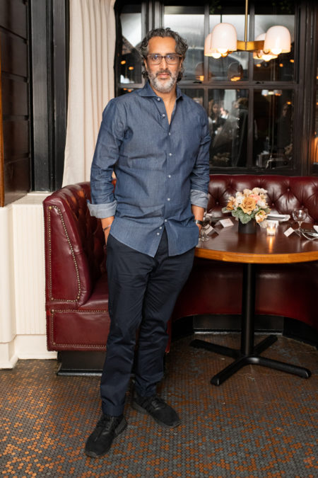 La festa al The Standard Grill di New York City - IMAGE CREDIT: BFA