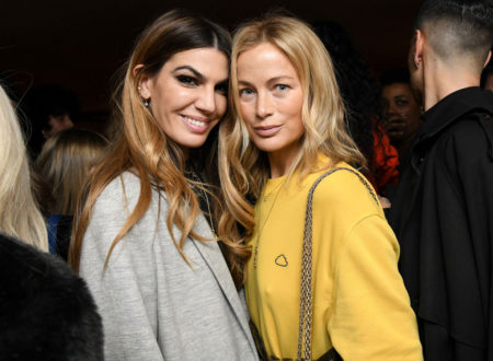 Bianca Brandolini and Carolyn Murphy