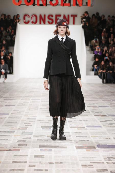 La sfilata di Dior a Parigi - fw 2020/21 - foto press office