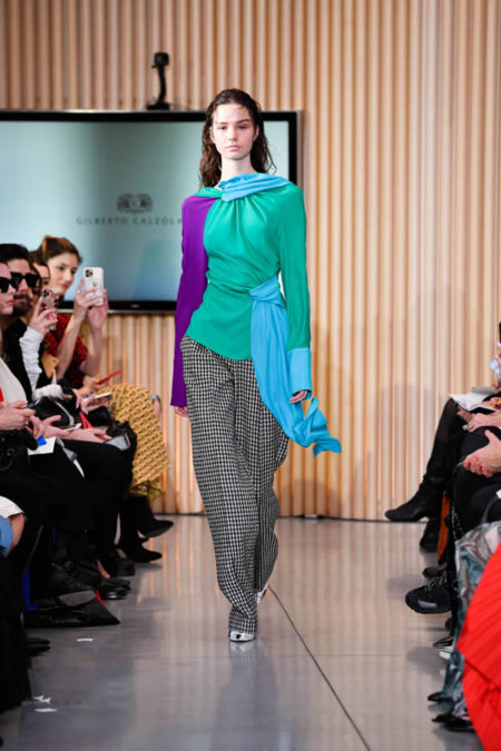 MFW | Gilberto Calzolari Fall Winter 2020.21 Collection | foto sfilata