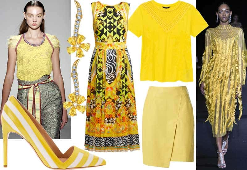 Moda: il giallo