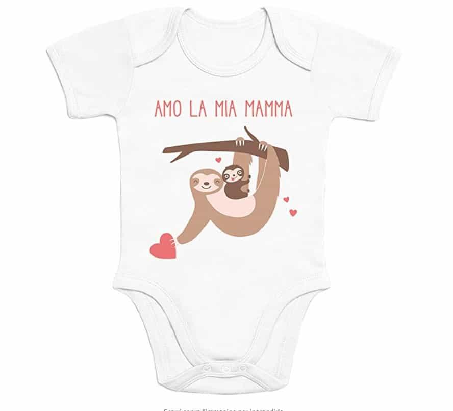 """Body neonato """"Amo la mia Mamma"""""""