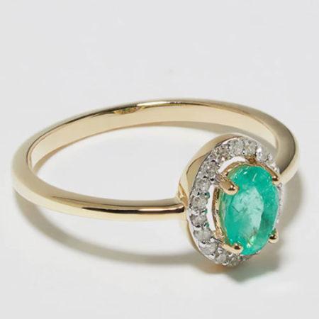 Oro, diamante e smeraldo per DIAMANT L'ÉTERNEL
