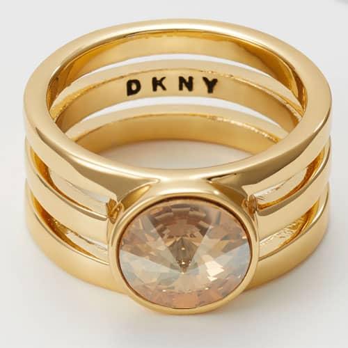 DKNY - RIVOLI - Anello - golden shadow