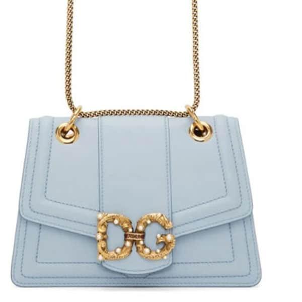 Dolce & Gabbana - Blue Small DG Amore Bag