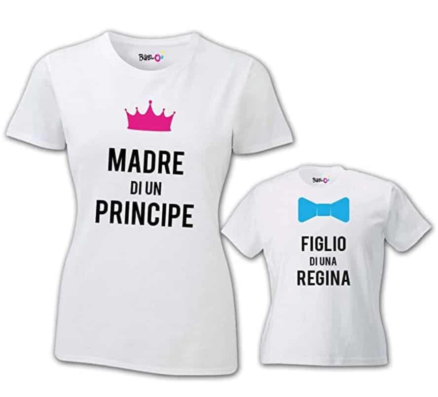 Coppia di T Shirt Donna Bambino