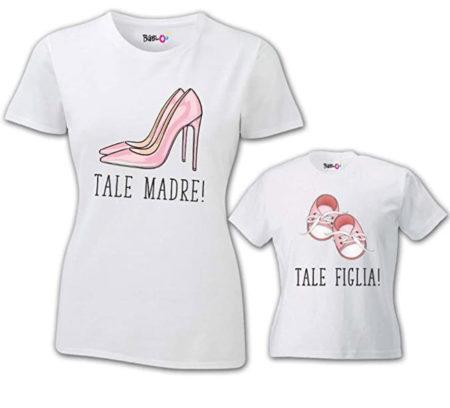 """Coppia di T-shirt """"Tale Madre Tale Figlia"""""""