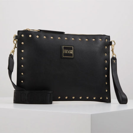 Versace Jeans Couture - STUDDED POUCH ON STRAP - Pochette