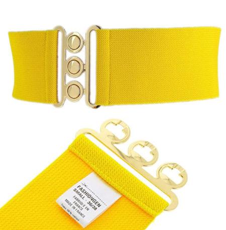 FASHIONGEN - Cintura donna gialla