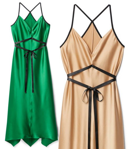 falconeri slip dress pe 2020 - i colori