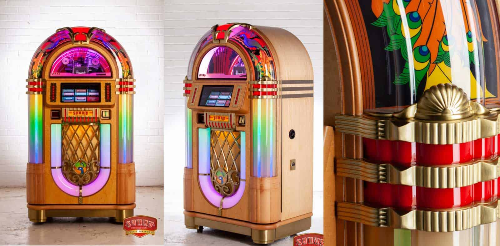 Jukebox SL45 Peackock