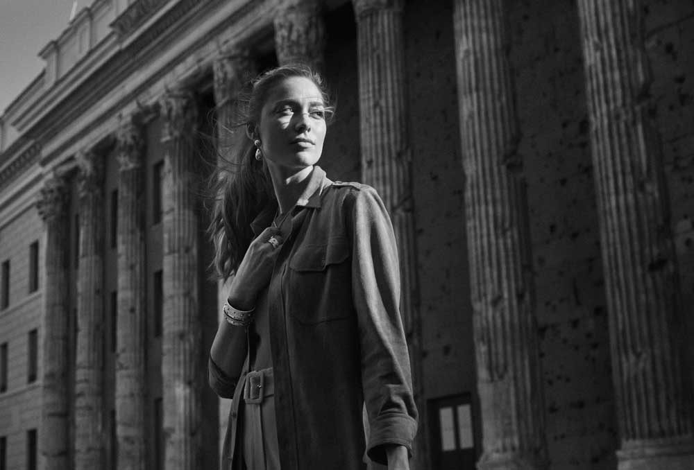 Beatrice Borromeo per Buccellati - Macri-Classica-Collection