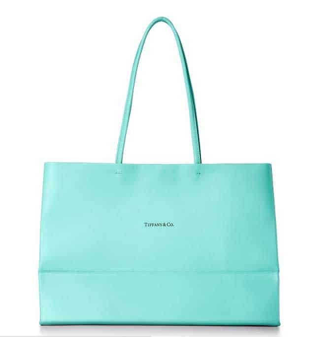Tiffany & Co. Large Shopping Tote