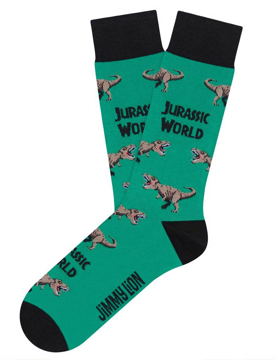 I calzini Jurassic World - t-rex-turquoise