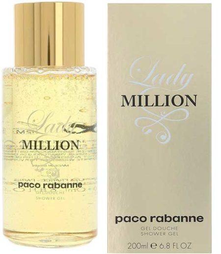 Paco Rabanne Lady Million, Gel Doccia